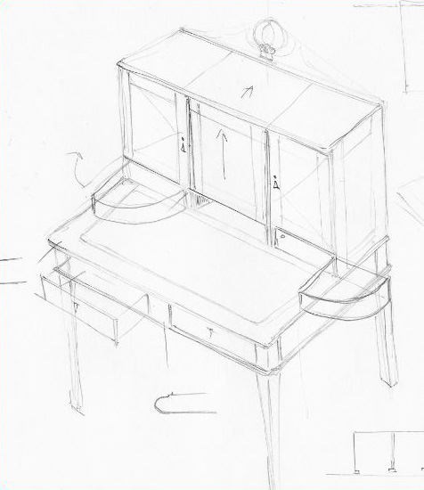 Woodwork sketch #7